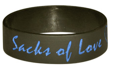 3/4 Inch Width Wristbands